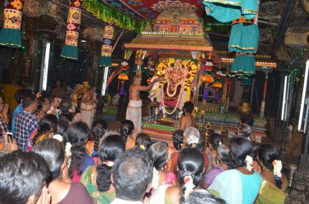 parasakthi Alangaram day 5 - navarathri Festival