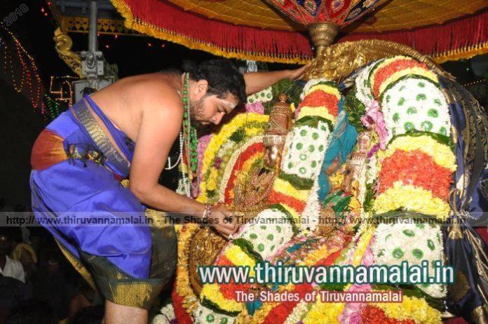 karthigai deepam day 2 night pic