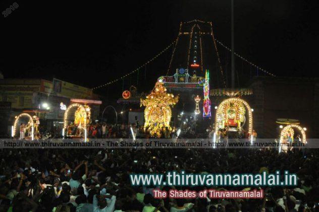 Karthigai Deepam day night pics 2018