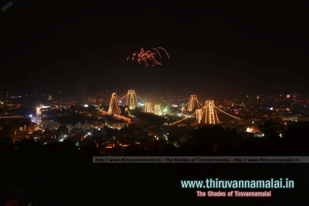 deepam festival lighting tiruvannamalai