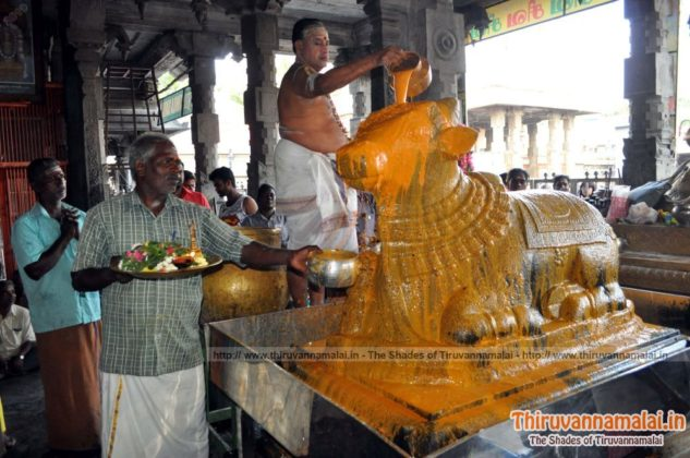 pradosham abishekam tiruvannamalai