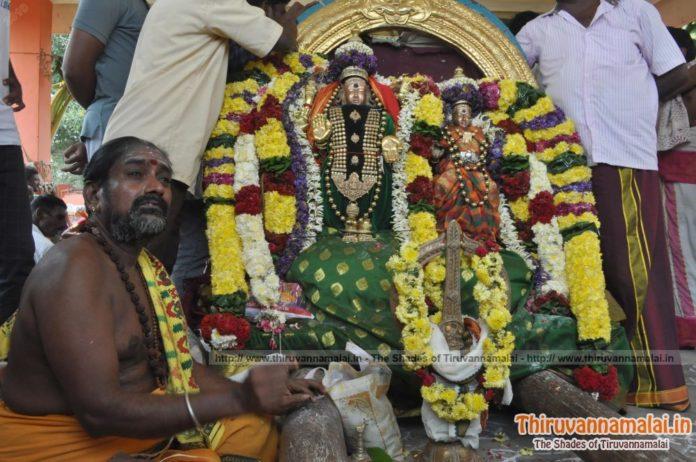 Lord Arunachaleswarar Alangaram,Tiruvannamalai
